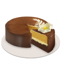 Cappuccino Creme Cake By Red Ribbon
