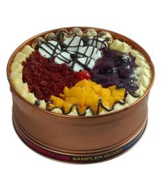 Sampler Can Cake