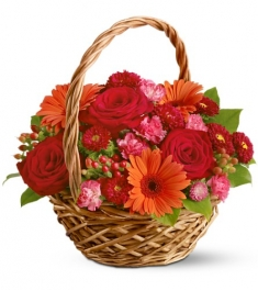 Autumn Festival Flower Basket to Philippines