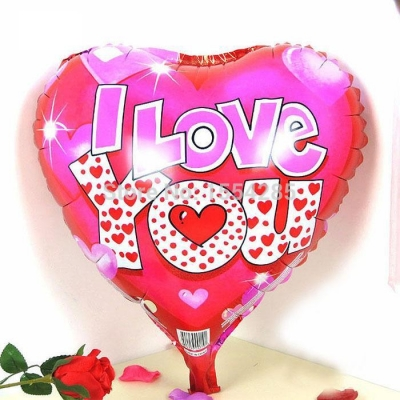 valentines i love you mylar balloon to philippines