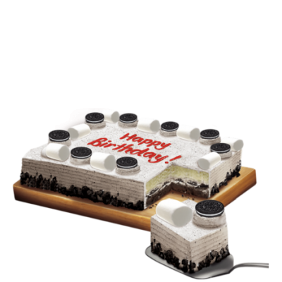 Cookies and Cream Dedication by Red Ribbon Cake