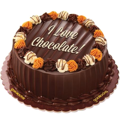 Chocolate Caramel Decadence Cake By Goldilocks