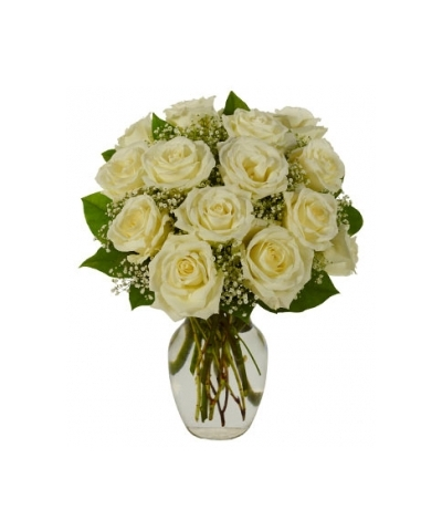 white roses vase to philippines