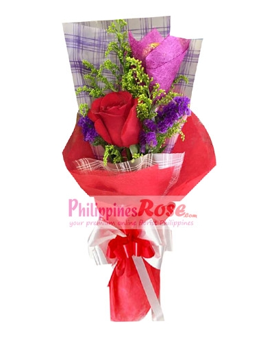 buy 6 red roses bouquet in philippines