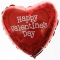 heart shaped mylar balloon to philippines