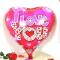 valentines i love you mylar balloon to philippines