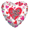 heart shaped i love you mylar balloon to philippines