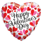 valentines heart shaped mylar balloon to philippines