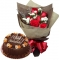 Chocolate Caramel Decadence Cake By Goldilocks