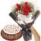Chocolate Mousse By Goldilocks Cake